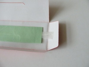 3. Membrane in the packing.